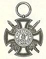 Vorstelijk Hohenzollernse Huisorde Erekruis I met Zwaarden 1866.jpg