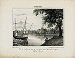 Vue de Bayonne prise du petit chantier près l'Arsenal de la Marine (Basses Pyrénées) - 1829 - Fonds Ancely - B315556101 A GELIBERT 1 038.jpg