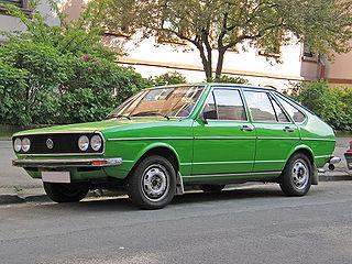 Volkswagen Passat (B1) Motor vehicle