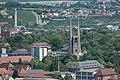 Würzburg, Evang.-Luth. Pfarrkirche St. Johannis, Ansicht von der Festung Marienberg 20170624 001.jpg