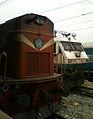 WDG-3A and WDP-4 locos at Secunderabad.jpg