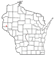 Location of Eau Galle, St. Croix County, Wisconsin