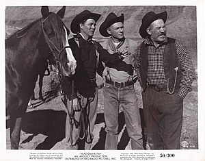 Wagon Master - Ben Johnson, Harry Carey, Jr. and Ward Bond