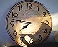 Wall clock in morning time.jpg