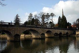 Wallingford, Oxfordshire - Wallingford Bridge