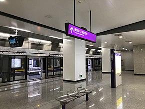 Wangjiazhuang Station Line 10.jpg