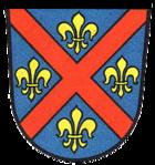Das Wappen von Ellwangen (Jagst)