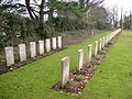 War Graves in Brandesburton Churchyard - geograph.org.uk - 1748494.jpg