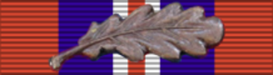 Eric Woodward - Image: War Medal 39 45 BAR MID