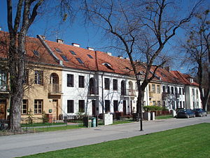 Bielany - A pre-war housing estate in Old Bielany