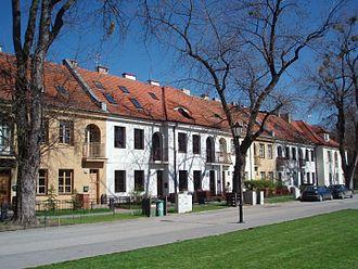 Bielany - A pre-war housing estate in Old Bielany