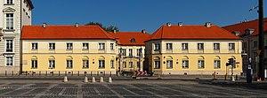 English: Blanka Palace in Warsaw, Poland. Pols...