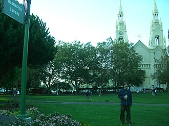 Washington Square (San Francisco) - Image: Washington Square Park San Francisco JDC CIMG1648