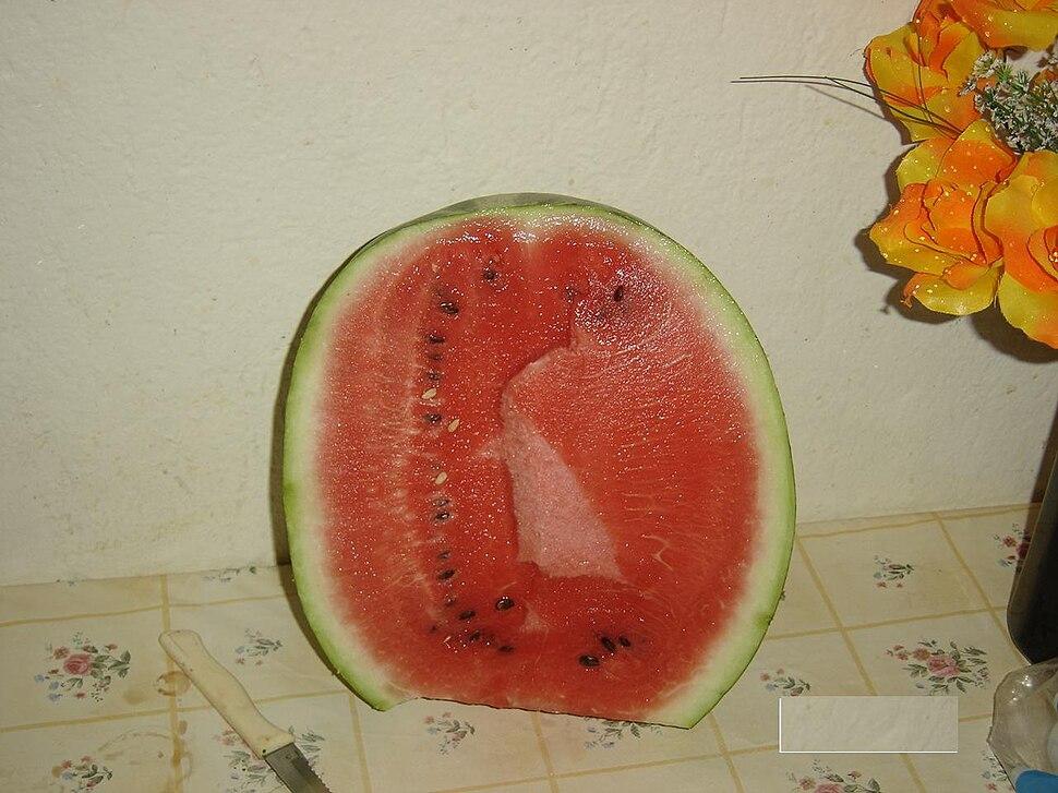Watermelon half
