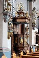 Wehr, Kirche - Kanzel (2014-10-01 848).JPG