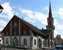 Weißenburg in Bayern, Schranne, An der Schranne 12, 2012-07-30.JPG