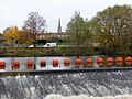 Weir on the River Calder - geograph.org.uk - 1578430.jpg