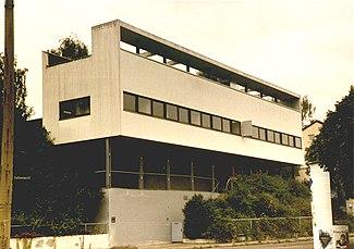 1927 en architecture wikip dia for Villas weissenhofsiedlung