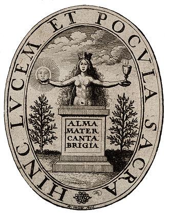 Coat of arms of the University of Cambridge - Image: Wenceslas Hollar Device of the Cambridge University Press