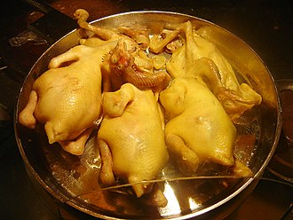 Hainan cuisine - Image: Wenchang Chicken 1