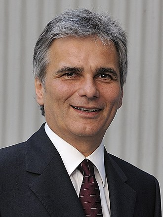 2013 Austrian legislative election - Image: Werner Faymann (cropped)