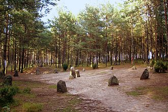 Early history of Pomerania - Stone circle of the Wielbark culture in Wesiory