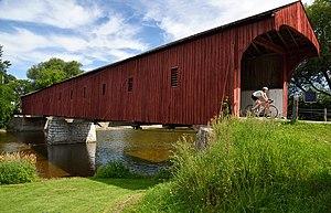West Montrose, Ontario - West Montrose Covered Bridge (2014)