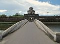 West entrance to Hue's Citadel (7351147098).jpg