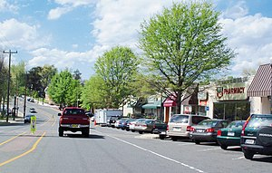 Westover, Arlington, Virginia - Street scene in Westover
