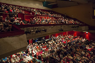 Weymouth Pavilion - The Pavilion auditorium during a performance from the Bournemouth Symphony Orchestra in Jan 2015.