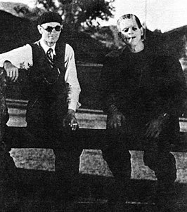 James Whale en Boris Karloff