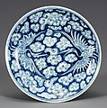White Porcelain Dish with Cloud and Crane Design in Underglaze Cobalt Blue (cropped).jpg