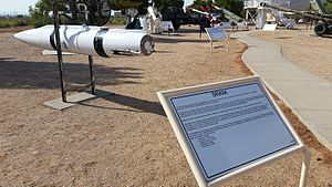 AGM-69 SRAM - White Sands Missile Range Missile Park SRAM display