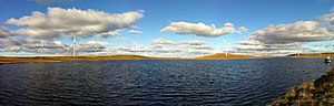Iberdrola - Whitelee wind farm Glasgow.