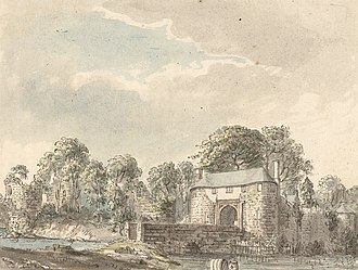 Whittington Castle - Whittington Castle c.1778