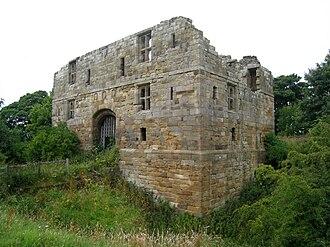 Whorlton Castle - Gatehouse
