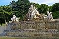 Wien - Schönbrunner Schloßpark - View SE on Neptunbrunnen.jpg