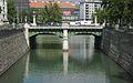 Wientalverbauung, Radetzkybrücke und Wienflussmündung (109551) IMG 4801.jpg