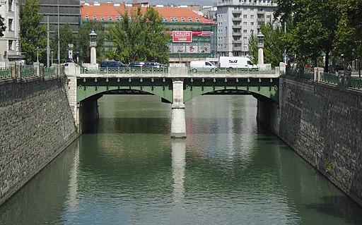 Wientalverbauung, Radetzkybrücke und Wienflussmündung (109551) IMG 4801