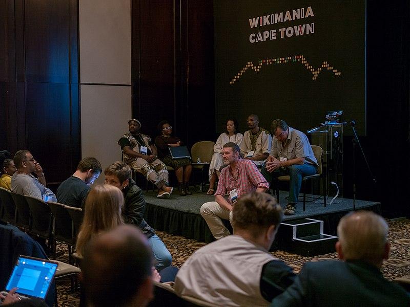 File:Wikimania 2018, Cape Town ( 1050720).jpg