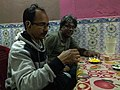 Wikimedians Having Snacks During Wiki Explores Purulia - I.jpg
