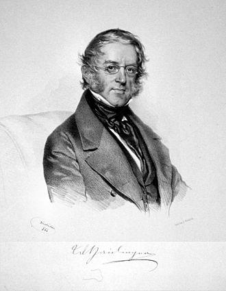 Wilhelm Karl Ritter von Haidinger - Image: Wilhelm Carl Ritter von Haidinger (edit)