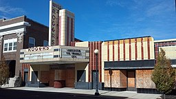 none Will Rogers Theatre and Commercial Block