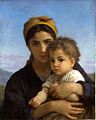 William-Adolphe Bouguereau (1825-1905) - Young Girl and Child (1877).jpg