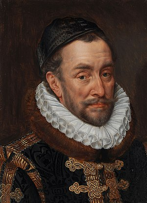 Siege of Mons (1572) - William of Orange, leader of the Dutch Revolt, by Adriaen Thomasz Key.