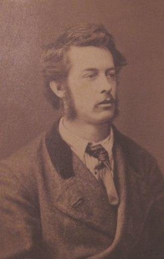 William Edward Frank Britten - Portrait of artist William Edward Frank Britten 1880.