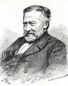 Willibald Alexis; Holzschnitt von A. Neumann, 1872 (Quelle: Wikimedia)