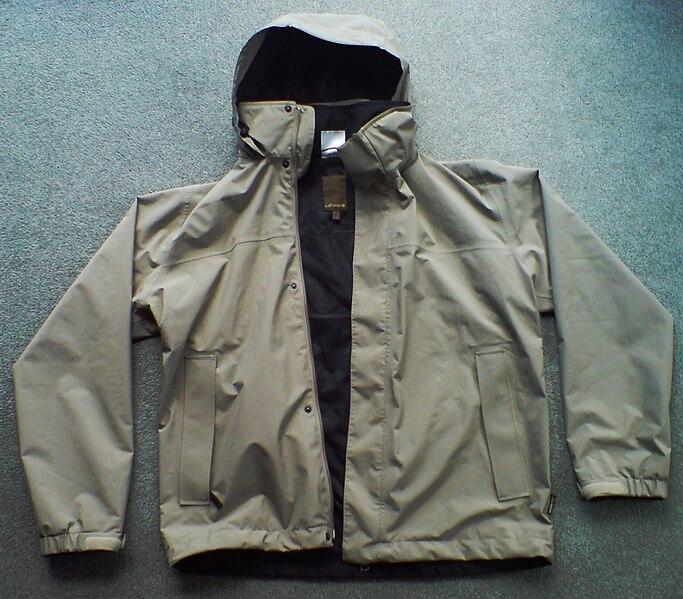File:Windbreaker Jacket, Hood Outside.jpg