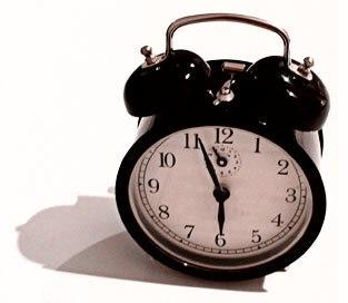 Windup alarm clock