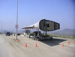 Wing on semi during transport.JPG